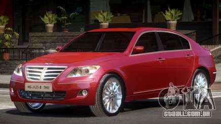 Hyundai Genesis Sedan V1.1 para GTA 4