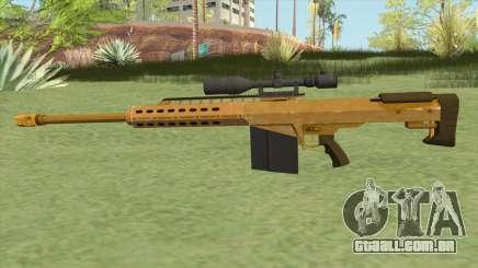 Heavy Sniper GTA V (Gold) V1 para GTA San Andreas