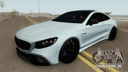 Mercedes-Benz S63 AMG Black para GTA San Andreas