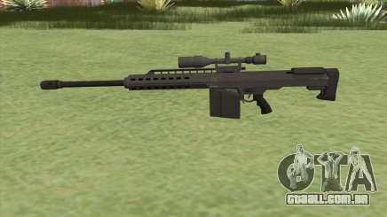 Heavy Sniper GTA V (Black) V1 para GTA San Andreas