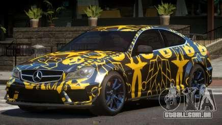 Mercedes Benz C63 AMG GT PJ1 para GTA 4