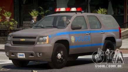 Chevrolet Tahoe Police V1.2 para GTA 4