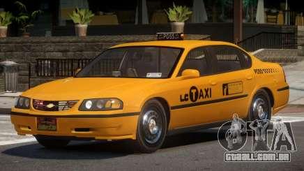 Chevrolet Impala RT Taxi V1.0 para GTA 4