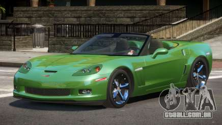 Chevrolet Corvette C6 Spider para GTA 4