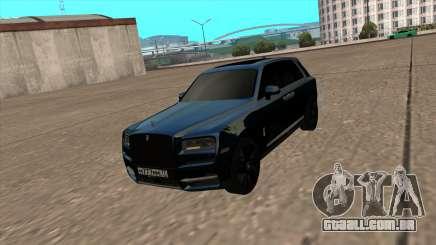 Rolls Royce Cullinan 2019 Black para GTA San Andreas
