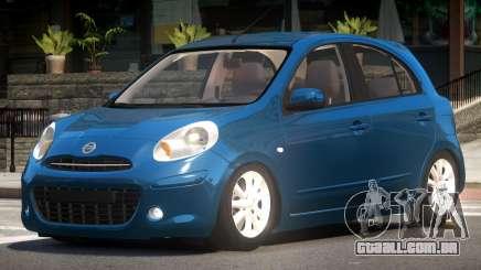 Nissan Micra V1.0 para GTA 4