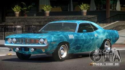 Plymouth Hemi Cuda STI PJ1 para GTA 4