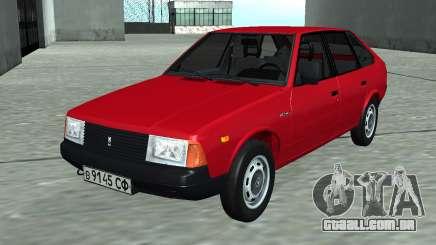 Moskvich 2141 Vermelho para GTA San Andreas