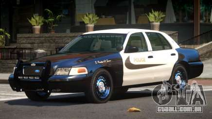 Ford Crown Victoria ST Police V1.0 para GTA 4