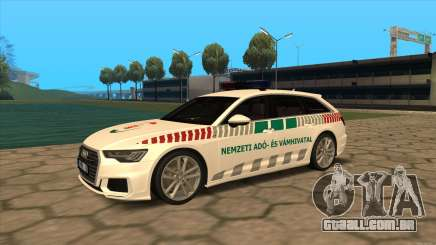 Audi RS6 NAV para GTA San Andreas