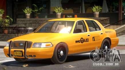 Ford Crown Victoria Taxi NY para GTA 4