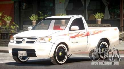 Toyota Hilux Tuned para GTA 4