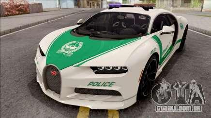 Bugatti Chiron 2017 Dubai Police para GTA San Andreas