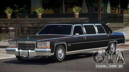 1985 Cadillac Fleetwood Limo para GTA 4