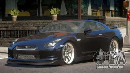 Nissan GTR R35 ST para GTA 4