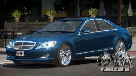 Mercedes Benz W221 V1.1 para GTA 4