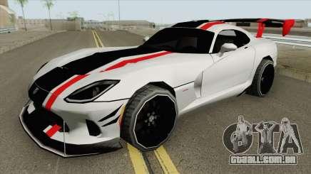 Dodge Viper ACR 2016 MQ para GTA San Andreas