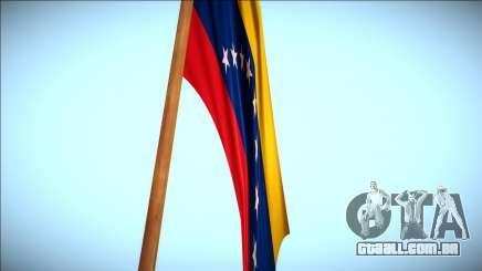 Bandeira da Venezuela no monte Chiliad Remasterizada para GTA San Andreas