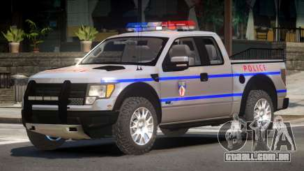 Ford Raptor Police V1.0 para GTA 4