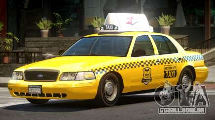 1993 Ford Crown Victoria Taxi para GTA 4