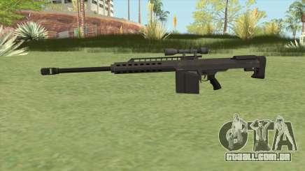 Heavy Sniper GTA V (Black) V3 para GTA San Andreas