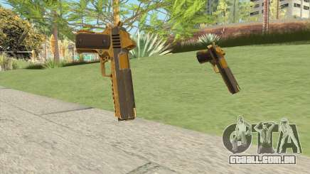 Heavy Pistol GTA V (Gold) Base V1 para GTA San Andreas