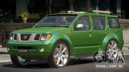 Nissan Pathfinder V1.0 para GTA 4
