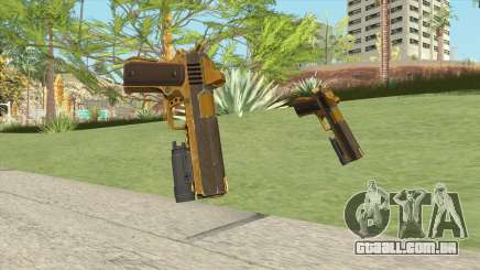 Heavy Pistol GTA V (Gold) Flashlight V1 para GTA San Andreas