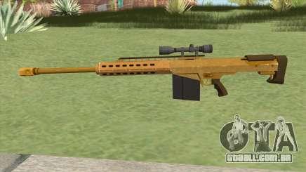 Heavy Sniper GTA V (Gold) V3 para GTA San Andreas