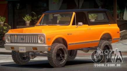 Chevrolet Blazer Off-Road para GTA 4