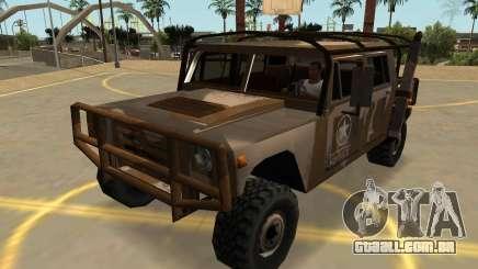 Mamute Patriota Militar Com Emblemas E Extras para GTA San Andreas