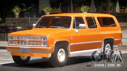 Chevrolet Suburban Old para GTA 4