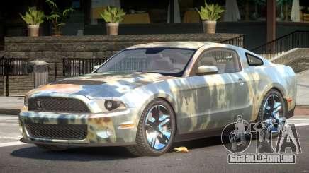 Shelby GT500 V8 PJ5 Rusty para GTA 4
