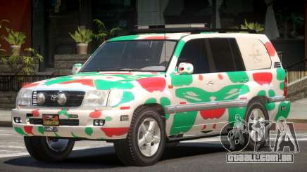 Toyota Land Cruiser Rally Cross PJ5 para GTA 4