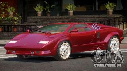 Lamborghini Countach CV para GTA 4