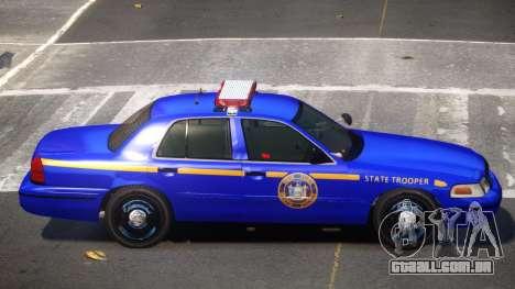 Ford Crown Victoria NYS Police para GTA 4
