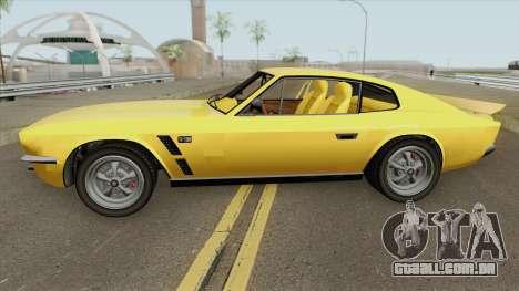 Dewbauchee Rapid GT Classic GTA V para GTA San Andreas