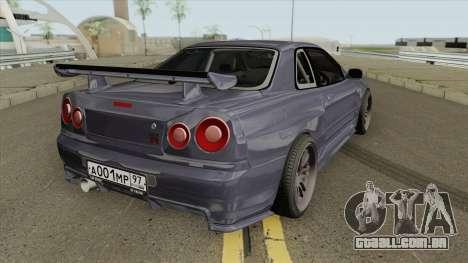 Nissan Skyline GT-R F4 2002 para GTA San Andreas
