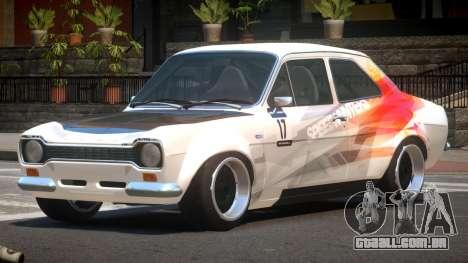 Ford Escort GT PJ2 para GTA 4