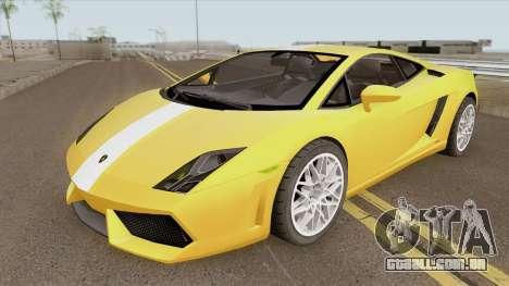 Lamborghini Gallardo LP560-4 para GTA San Andreas