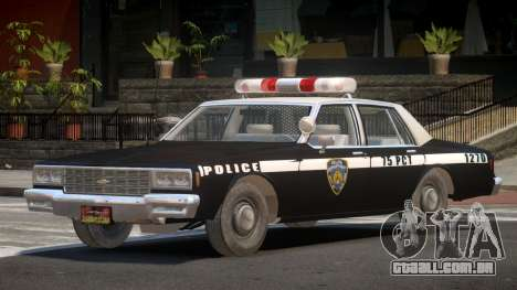 1985 Chevrolet Impala Police para GTA 4