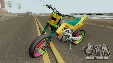 Aprilia MXV 450 para GTA San Andreas