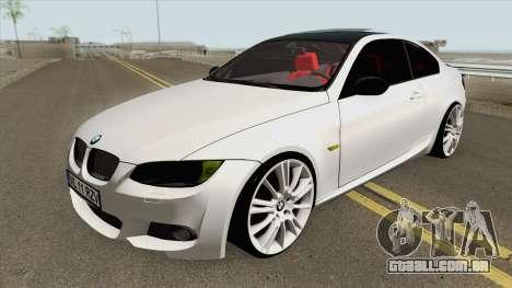 BMW E92 335D M-Tech 2007 para GTA San Andreas