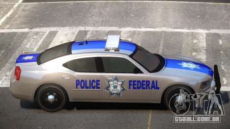 Dodge Charger Police Federal para GTA 4