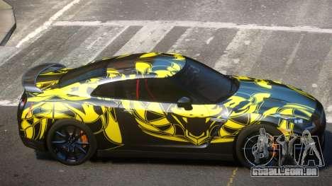 Nissan GT-R Qz PJ1 para GTA 4
