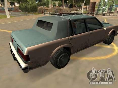 Schyster Greenwood (Crachás-PJ-Extras) para GTA San Andreas