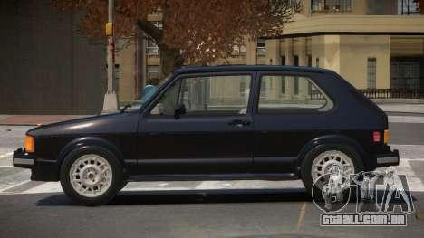 Volkswagen Rabbit V1.0 para GTA 4