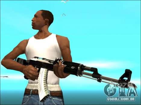 Pak armas de Ouro Branco para GTA San Andreas