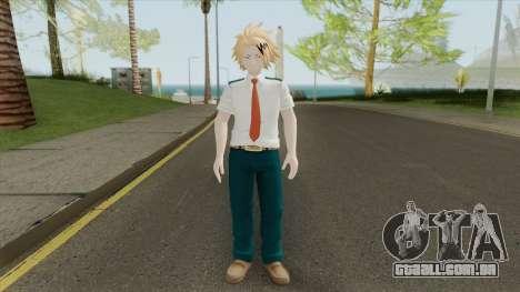 Denki Kaminari V2 (My Hero Academia) para GTA San Andreas