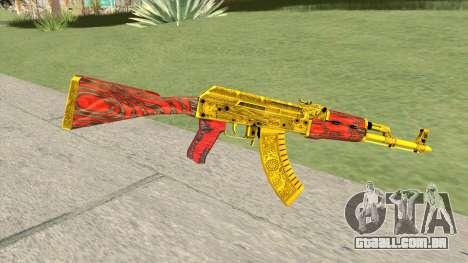 AKM (Gold Cartel) V2 para GTA San Andreas